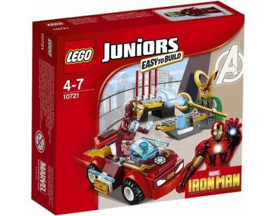 LEGO Juniors 10721 Iron Man vs. Loki