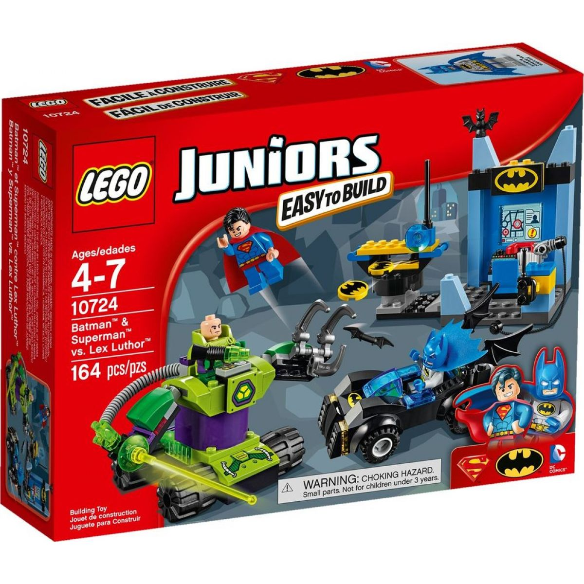 LEGO Juniors 10724 Batman & Superman versus Lex Luthor