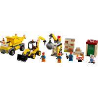 LEGO Juniors 10734 Demoliční práce na staveništi 2
