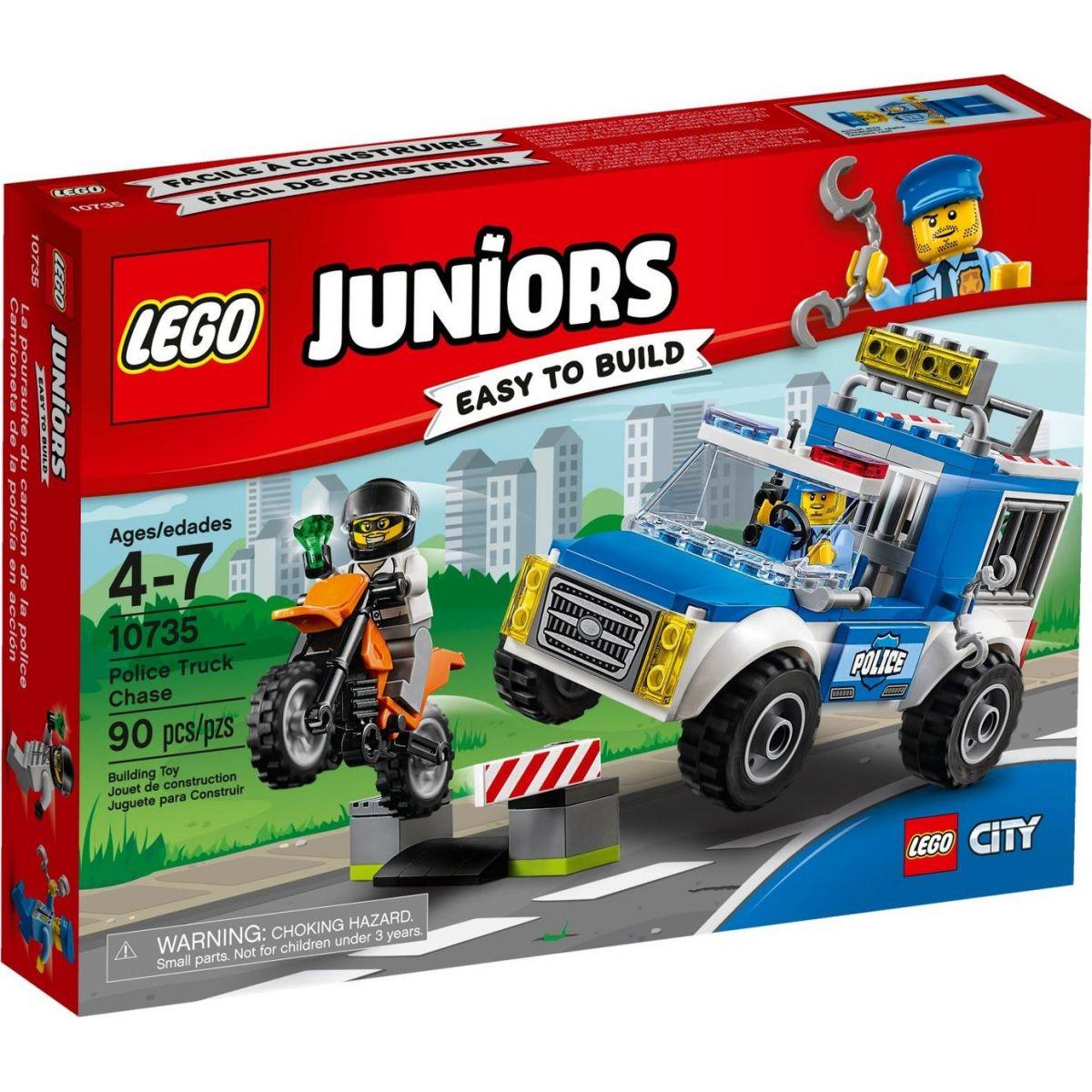 LEGO Juniors 10735 Honička s policejní dodávkou