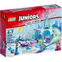 LEGO Juniors 10736 Ledové hřiště pro Annu a Elsu