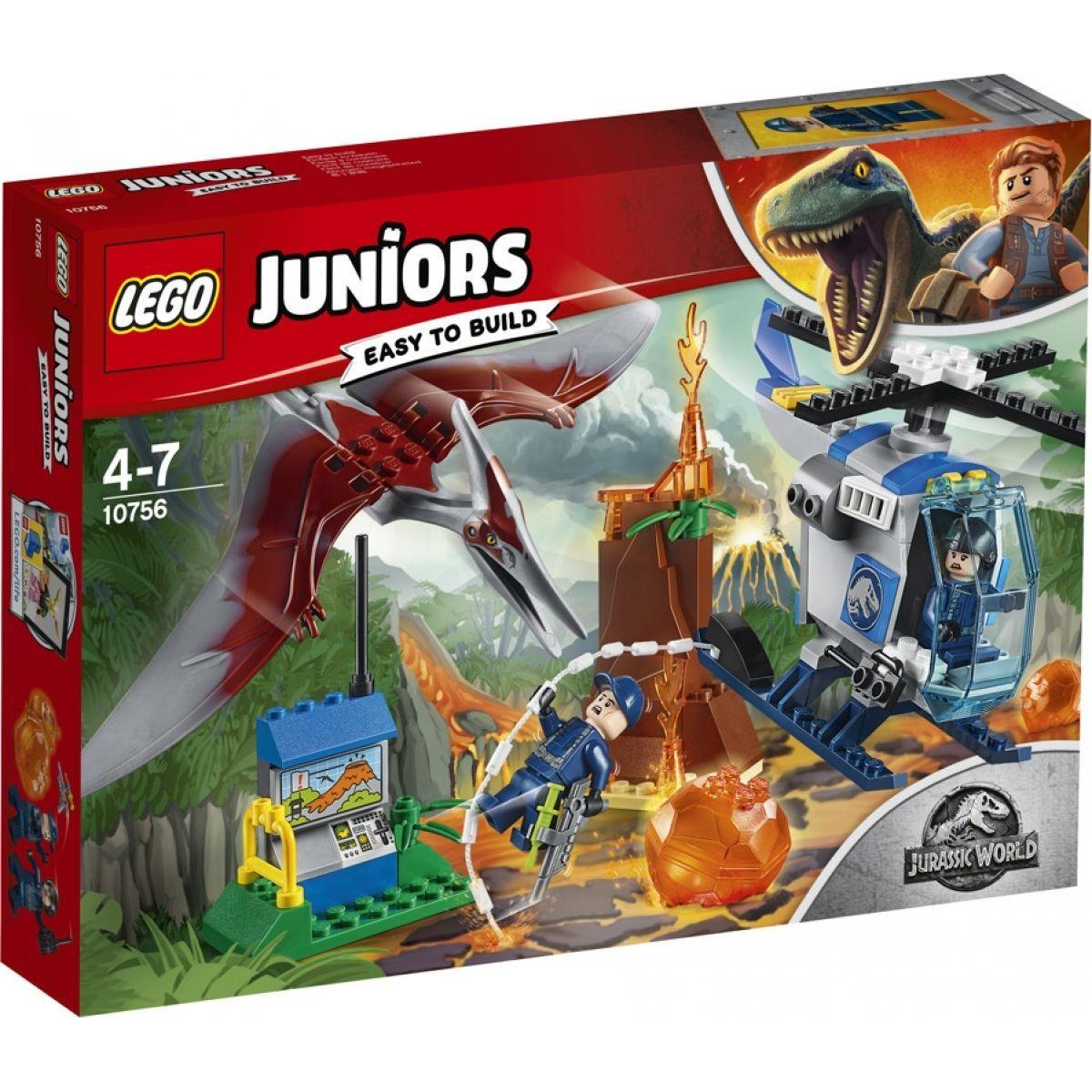 LEGO Juniors 10756 Jurassic World Útěk Pteranodona
