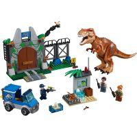 LEGO Juniors 10758 Jurassic World Útěk T. Rexe 2