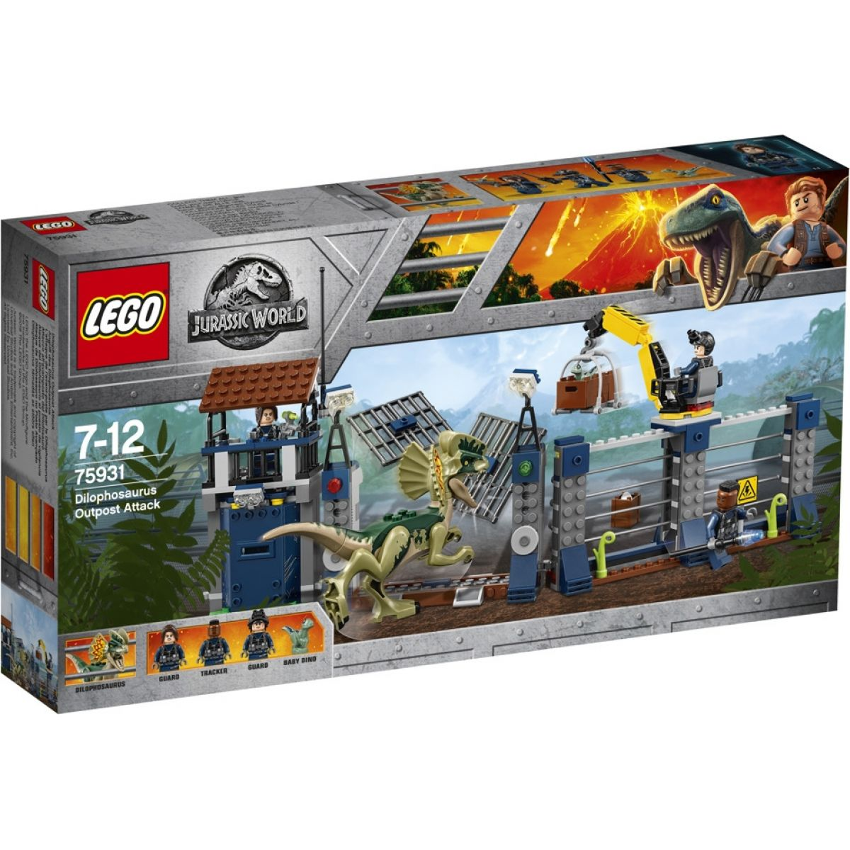 LEGO Jurassic World 75931 Dilophosaurus Outpost Attack