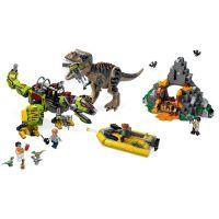 LEGO Jurassic World 75938 T. rex vs. Dinorobot 3