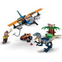 LEGO® Jurassic World 75942 Velociraptor: Záchranná mise s dvouplošníkem 6