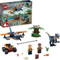 LEGO® Jurassic World 75942 Velociraptor: Záchranná mise s dvouplošníkem