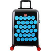 LEGO Luggage ColourBox Brick Dots 20 Černý Modrý