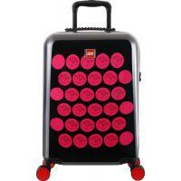 LEGO Luggage ColourBox Brick Dots 20 Černý Růžový