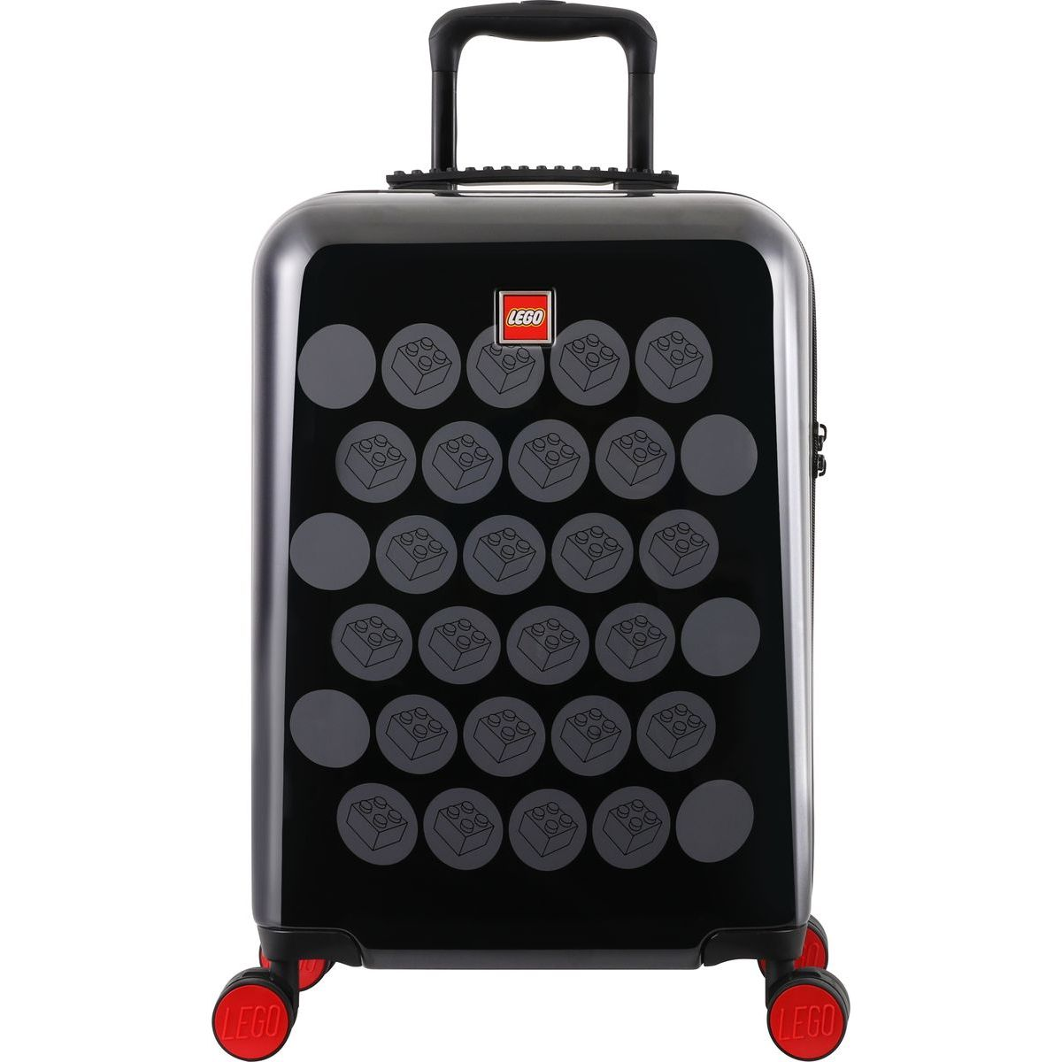 LEGO Luggage ColourBox Brick Dots 20 Černý Šedý