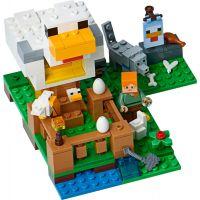 LEGO Minecraft 21140 Kurník 3