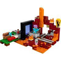 LEGO Minecraft 21143 Podzemní brána - Poškozený obal