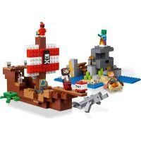 LEGO® Minecraft™ 21152 Dobrodružství pirátské lodi 4