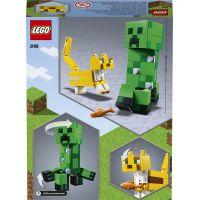 LEGO Minecraft 21156 Velká figurka: Creeper™ a Ocelot 3