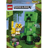 LEGO Minecraft 21156 Velká figurka: Creeper™ a Ocelot 2