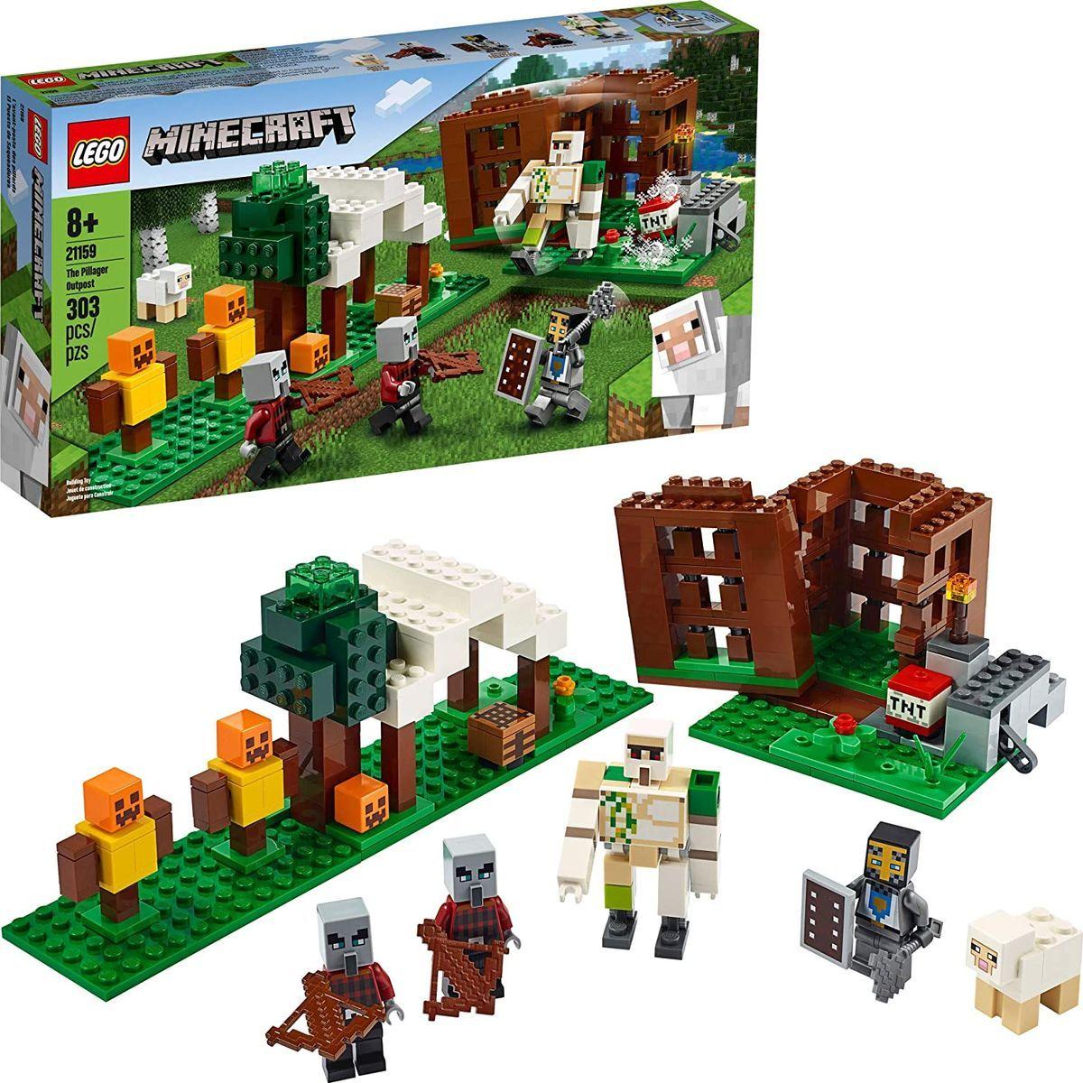 LEGO® Minecraft™ 21159 Základňa Pillagerov