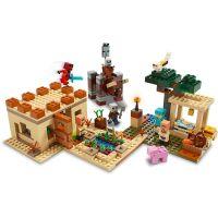 LEGO Minecraft 21160 Útok Illagerů 4