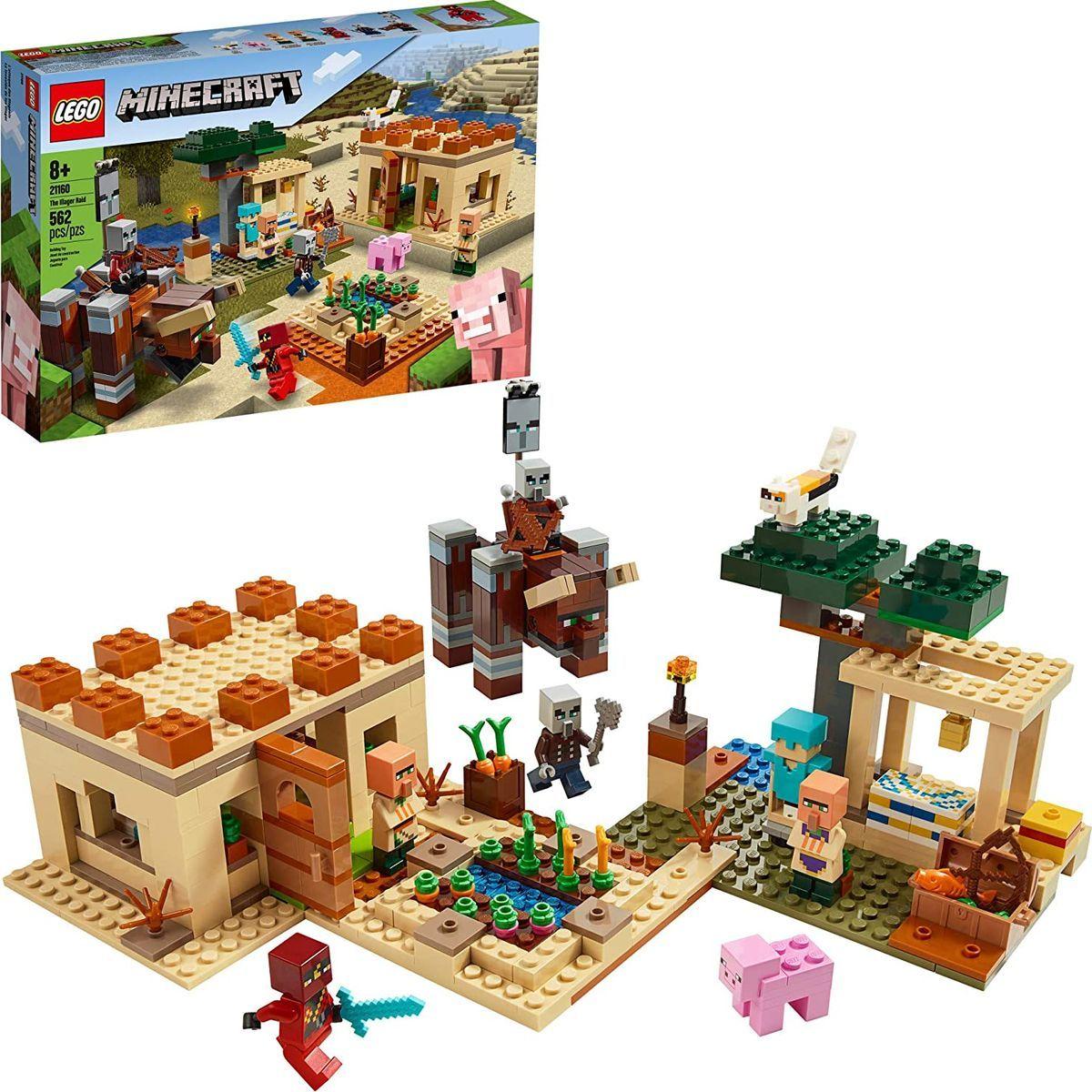 LEGO® Minecraft™ 21160 Útok Illagerů