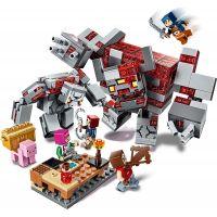 LEGO Minecraft 21163 Bitva o rudit 6