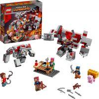 LEGO® Minecraft™ 21163 Bitva o rudit