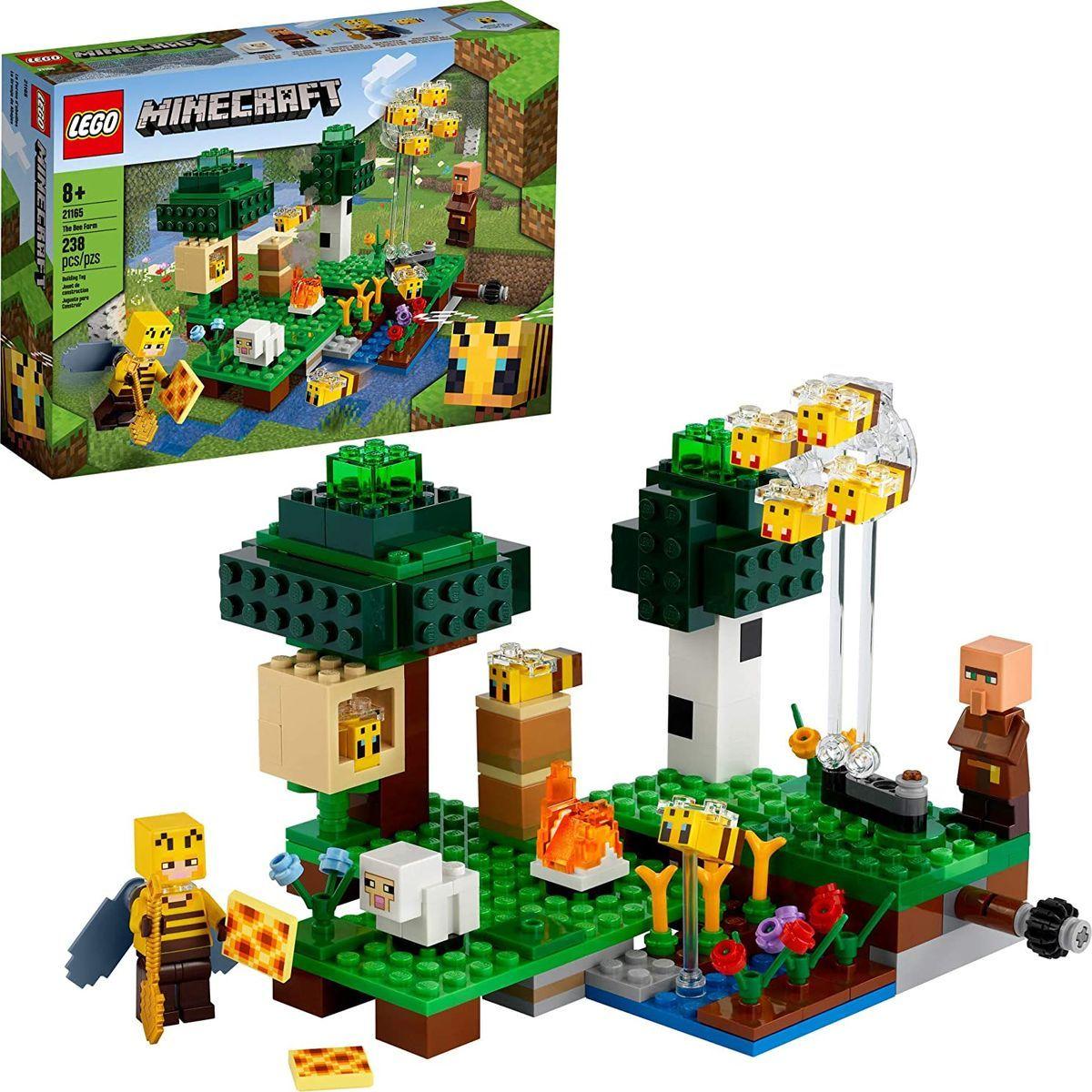 LEGO® Minecraft™ 21165 Včelí farma