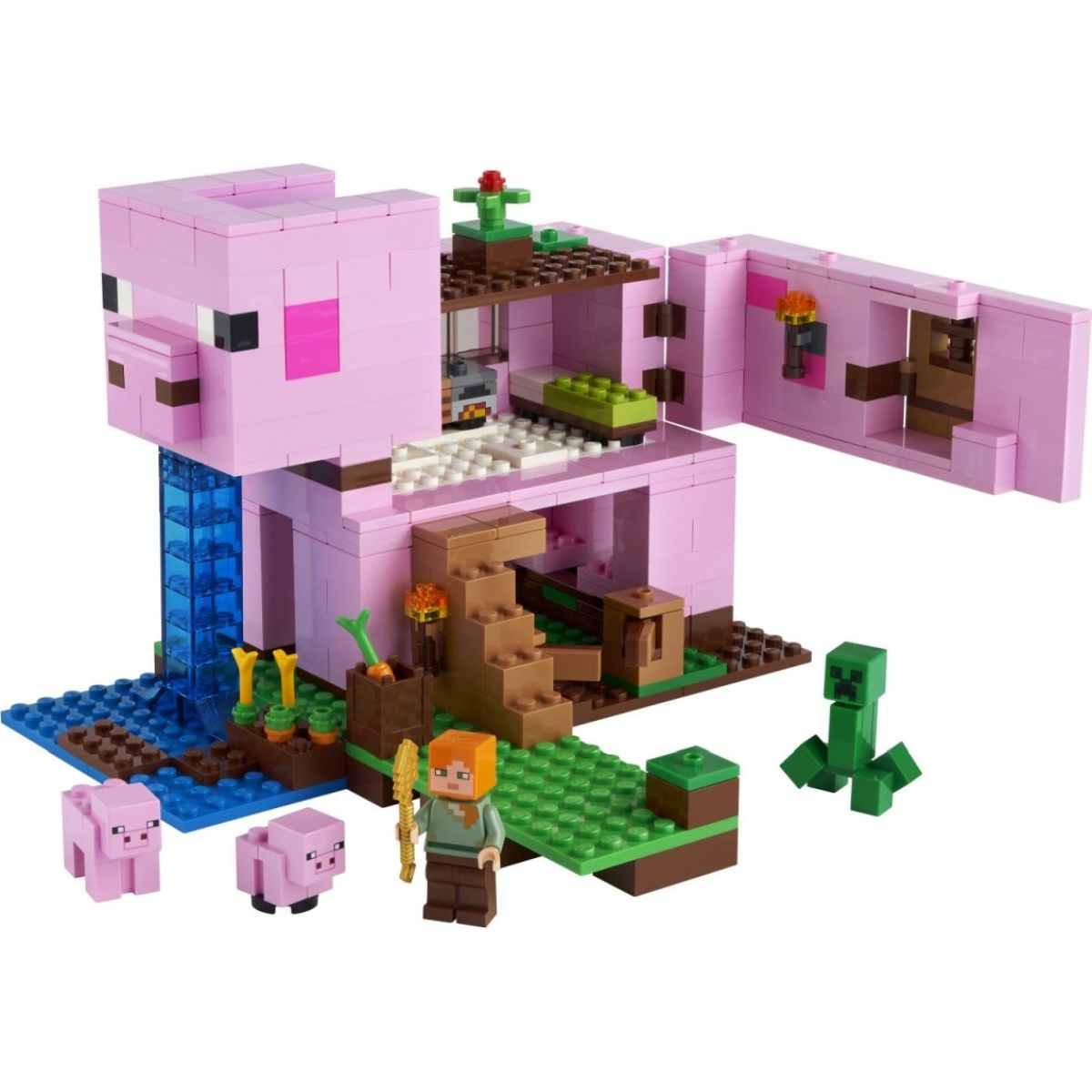 LEGO Minecraft 21170 Prasaci dom