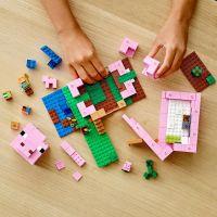 LEGO Minecraft 21170 Prasaci dom 4