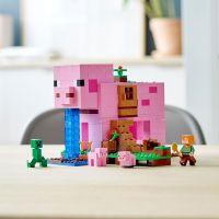 LEGO Minecraft 21170 Prasaci dom 5