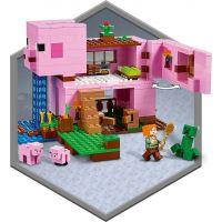 LEGO Minecraft 21170 Prasaci dom 6