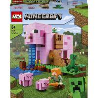 LEGO Minecraft 21170 Prasaci dom 2