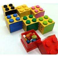 LEGO Mini Box 46 x 46 x 43 mm svetlomodrá 3