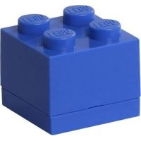 LEGO Mini Box 4,6 x 4,6 x 4,3 cm Modrá