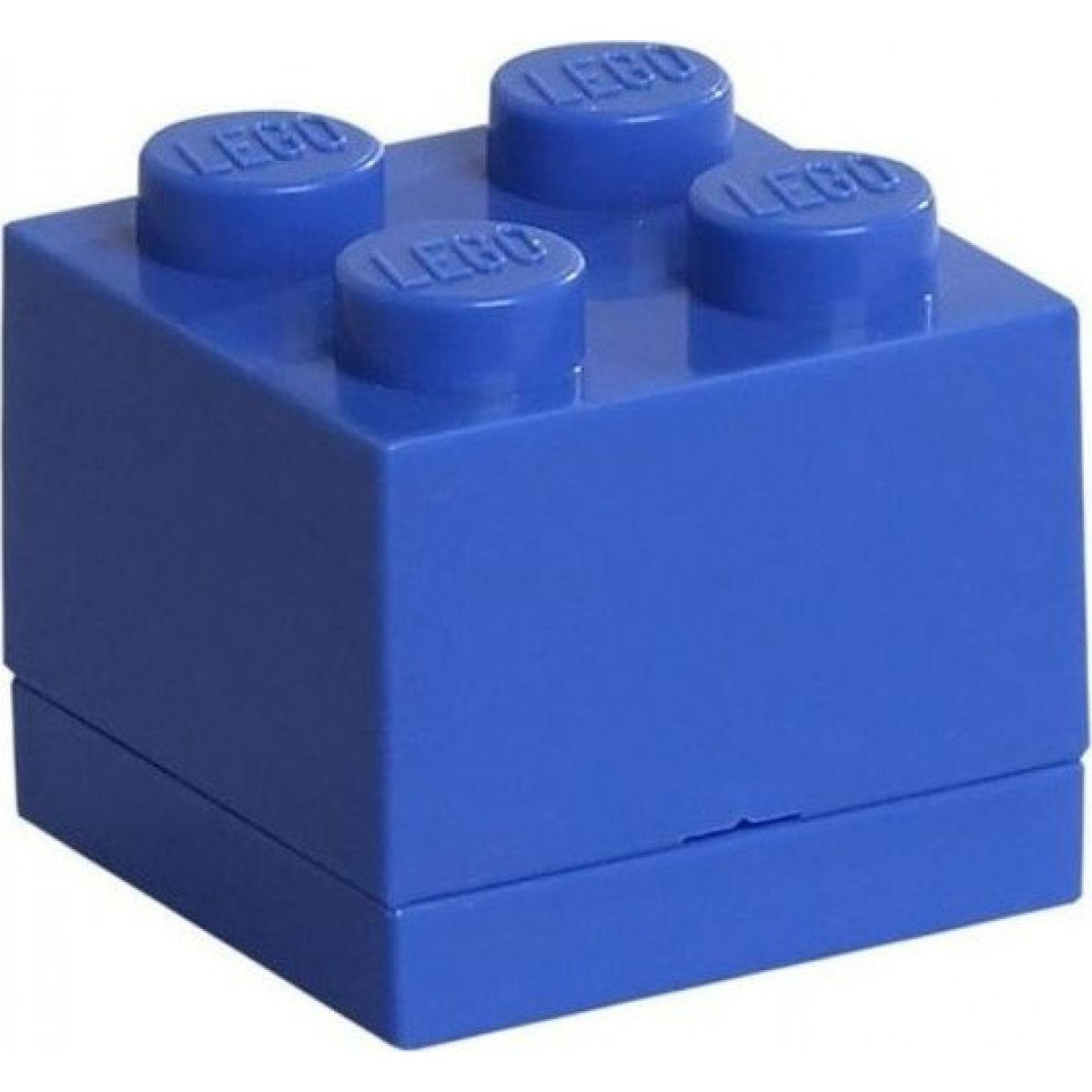 LEGO Mini Box 4,6 x 4,6 x 4,3 cm Modrá