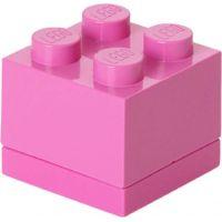 LEGO Mini Box 4,6 x 4,6 x 4,3 cm Růžová