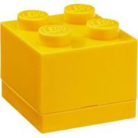LEGO Mini Box 4,6 x 4,6 x 4,3 cm Žlutá