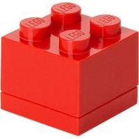 LEGO Mini Box 4,6 x 4,6 x 4,3 cm Červená