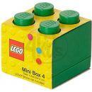 LEGO Mini Box 46x46x51 mm - Zelený 3
