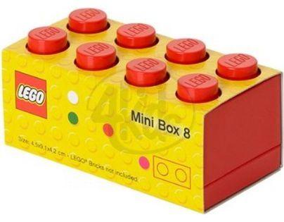 LEGO Mini Box 46x92x51 mm - Červený