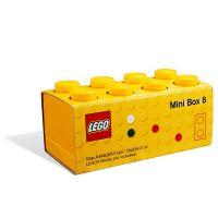 LEGO Mini Box 4,6 x 9,3 x 4,3 cm žltý 2