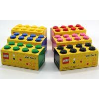 LEGO Mini Box 4,6 x 9,3 x 4,3 cm žltý 3