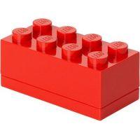 LEGO Mini Box 4,6x9,3x4,3cm Červená