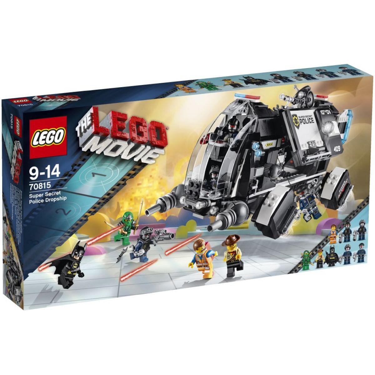 LEGO Movie 70815 - Super tajné policejní přistání