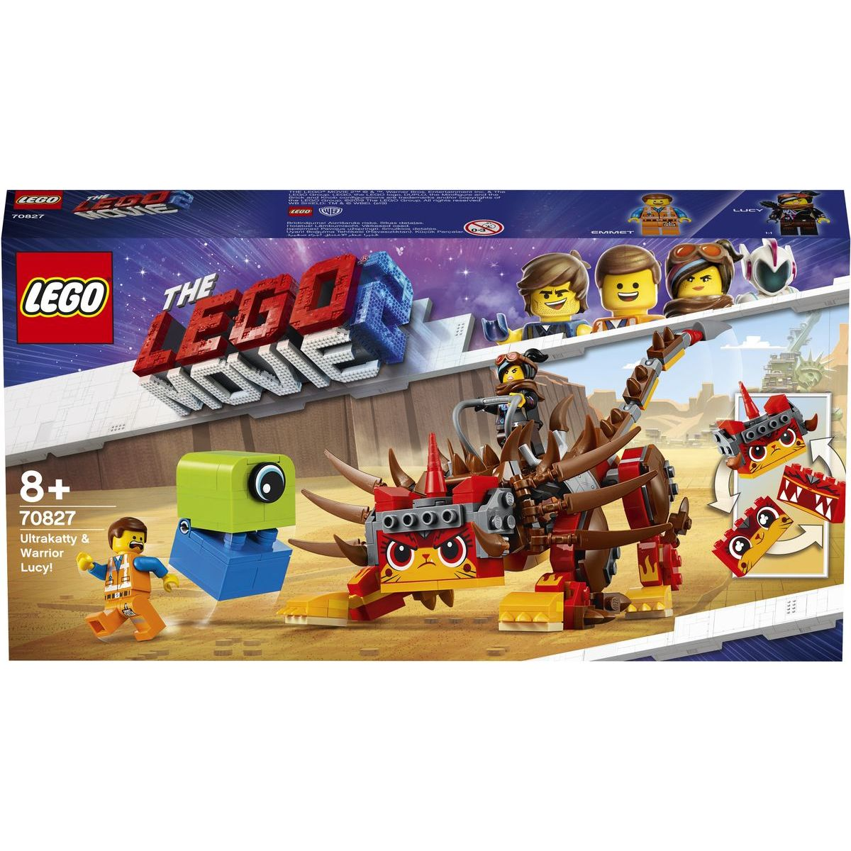 LEGO Movie 70827 Ultrakatty a válečnice Lucy