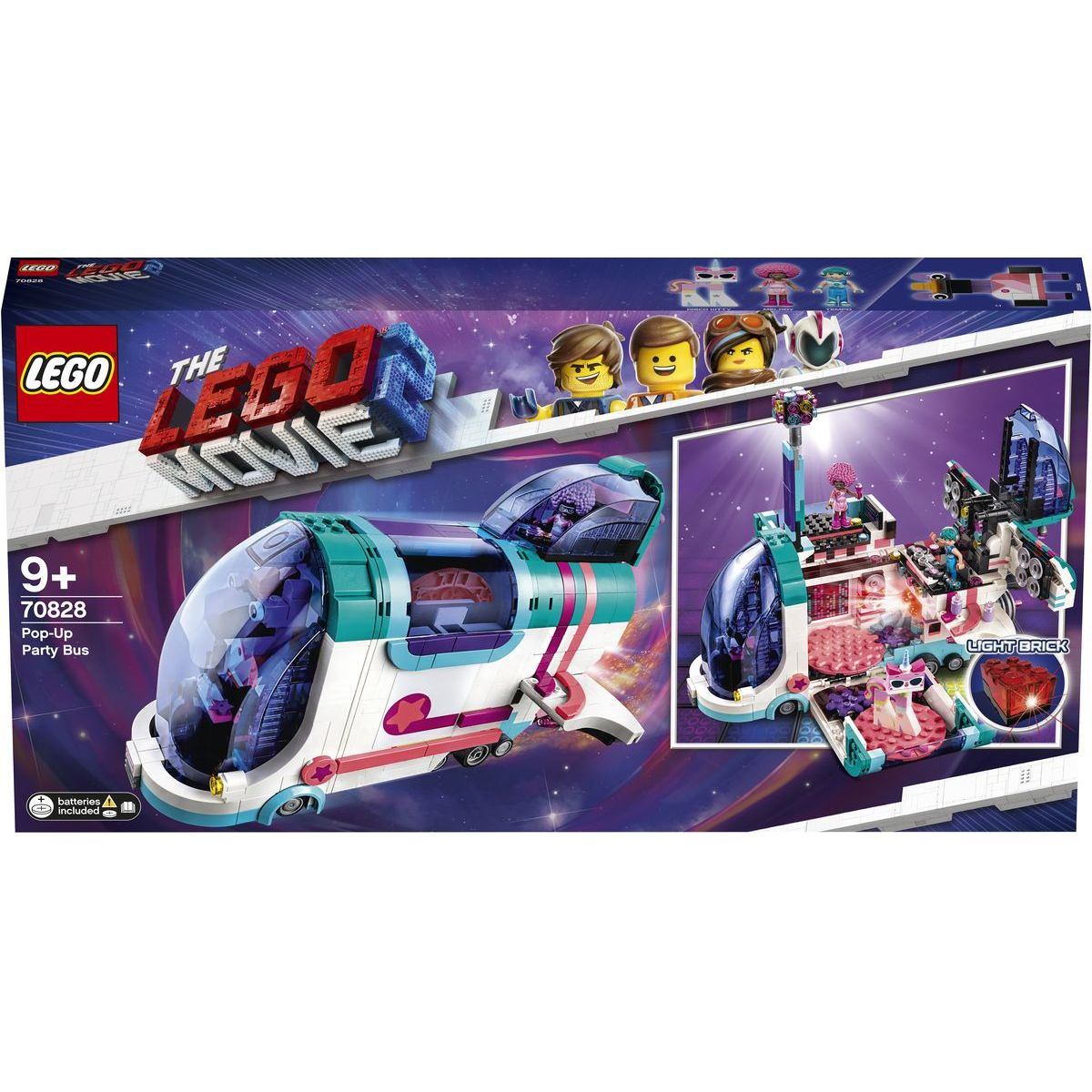 LEGO Movie 70828 Vyklápěcí party autobus