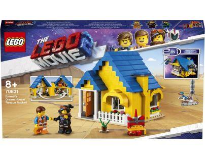 LEGO Movie 70831 Emmetův vysněný dům Záchranná raketa