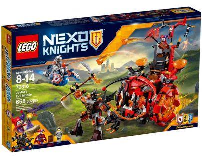 LEGO Nexo Knights 70316 Jestrovo hrozivé vozidlo - Poškozený obal