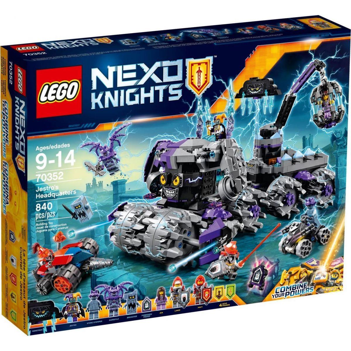 LEGO Nexo Knights 70352 Jestrovo mobilní ústředí (H.E.A.D)