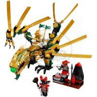 LEGO NINJAGO 70503 Zlatý drak 2
