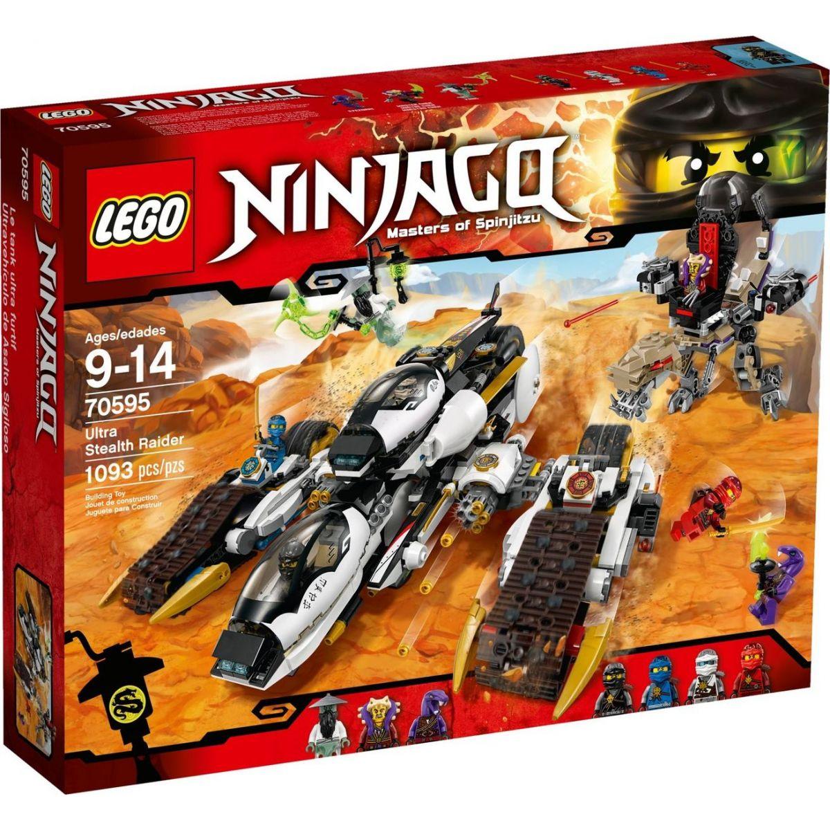 LEGO Ninjago 70595 Ultra tajné útočné vozidlo - Poškozený obal