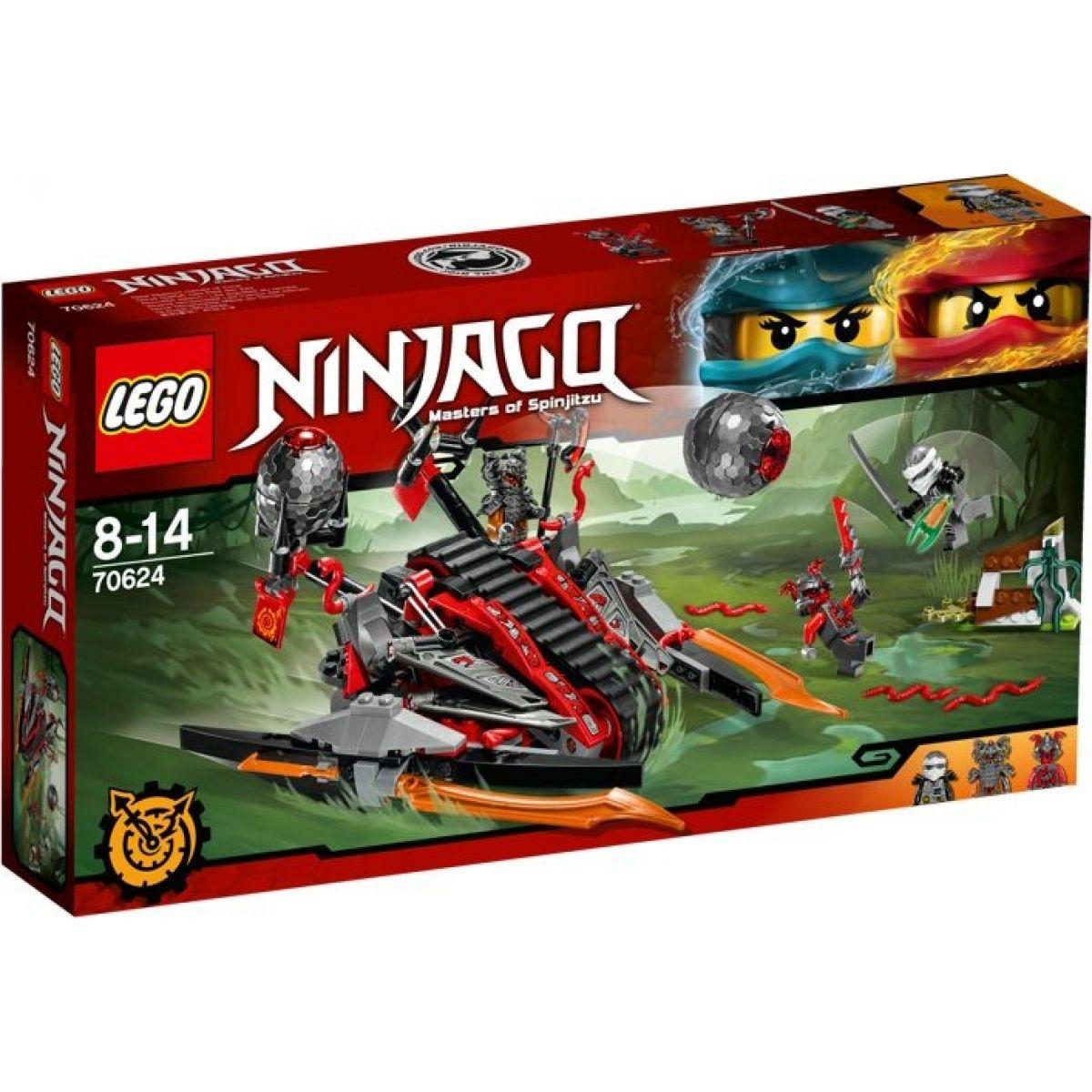 LEGO Ninjago 70624 Ničivé vozidlo rumělkových válečníků